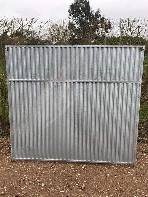Galvanised Full Solid Panel