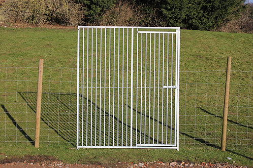 Galvanised Gated Bar Panels