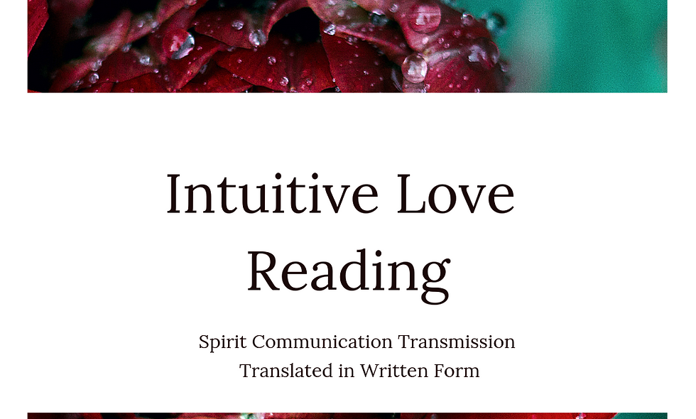 Intuitive Love Reading