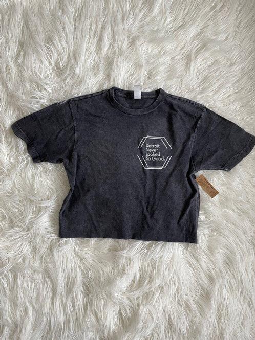 Vintage Wash Cropped T-shirt