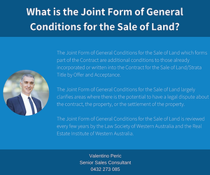 What Is Joint Form of General Conditions
