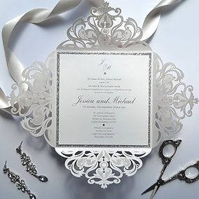 Dorothy - Beautiful Lasercut Invitation