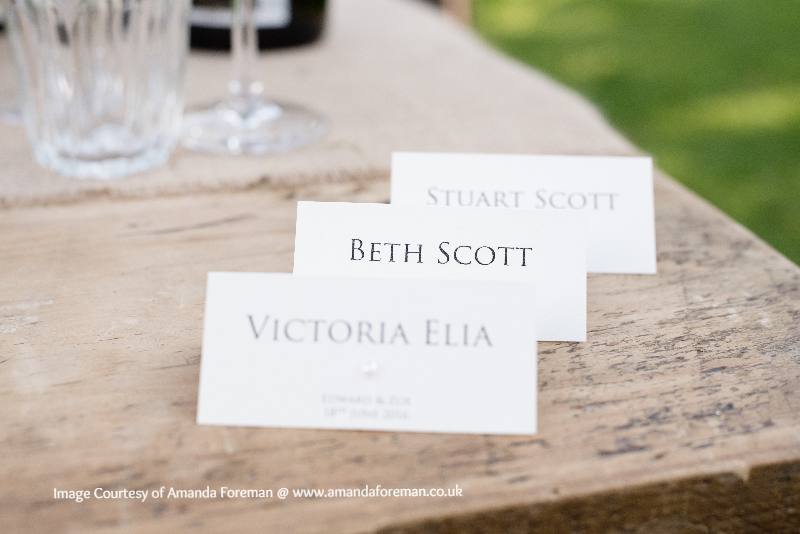 Place Cards for Event