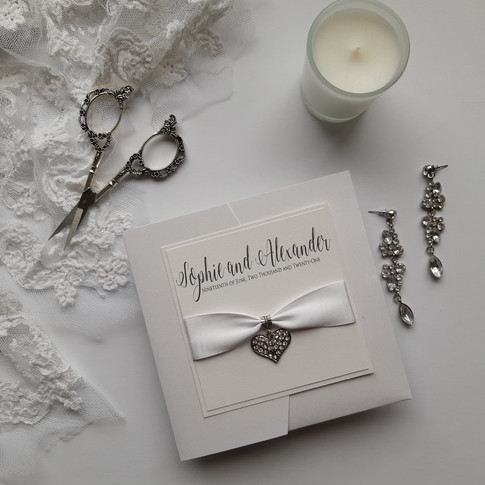 Sophie Pocketfold Wedding Invitation