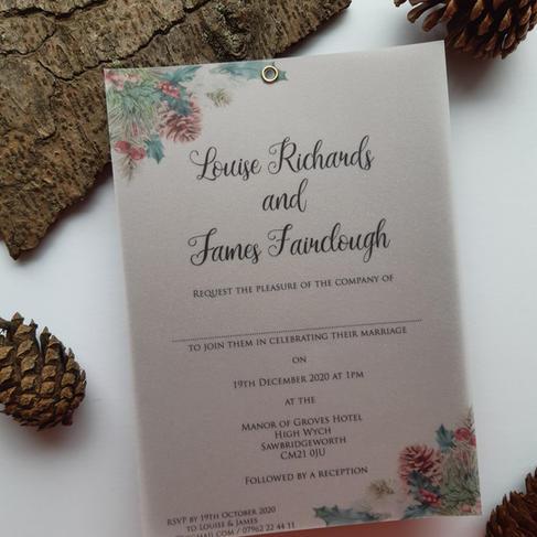 Noel - Wedding Invitation