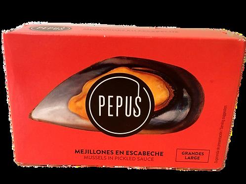 Mejillones en Escabeche (Moules) - Pepus