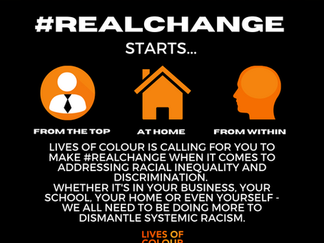 #Real Change Campaign.