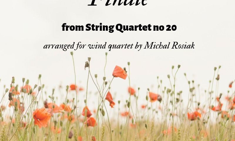 J. Haydn - Finale from String Quartet op. 20 no. 33