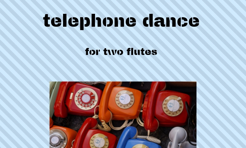M. Rosiak - Telephone Dance for two flutes