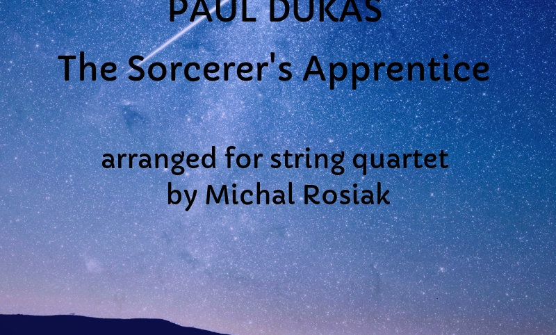 P. Dukas - The Sorcerer's Apprentice for string quartet