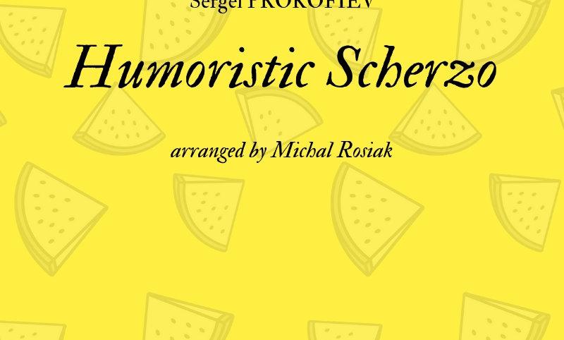 S.Prokofiev - Humoristic Scherzo for flute quartet