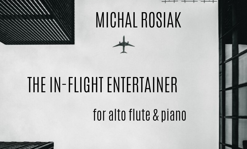 In-flight Entertainer for alto flute and piano