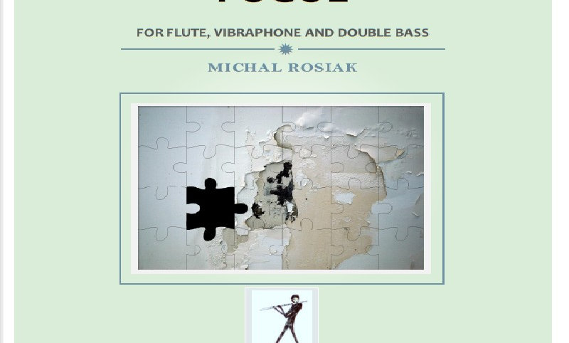 Fugue for flute, double bass and vibraphone