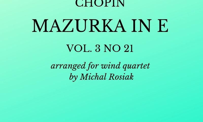 F. Chopin - Mazurka no.21