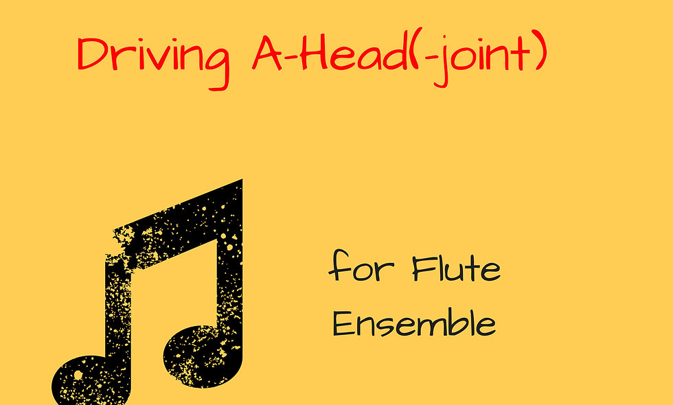 M. Rosiak - Driving A-Head (joint) for flute ensemble