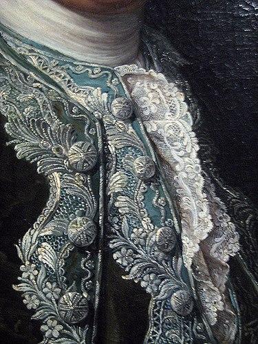 Herenkostuum details