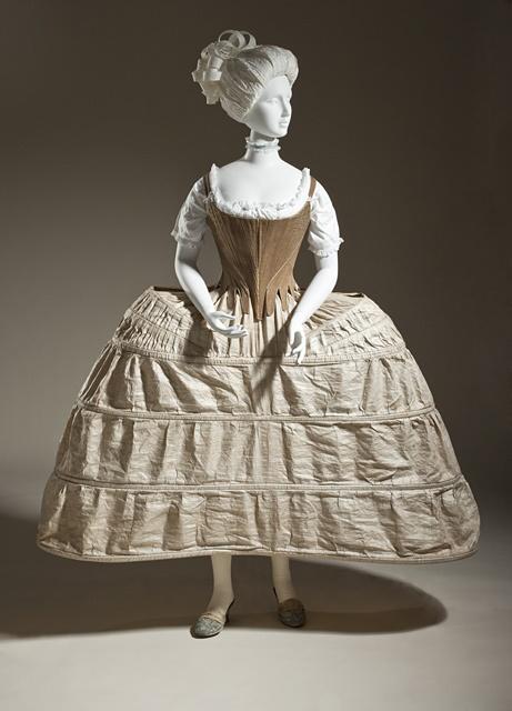 Ondergoed uit 1750-80