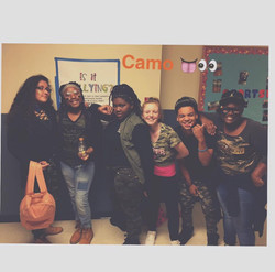 Camo with my girls!