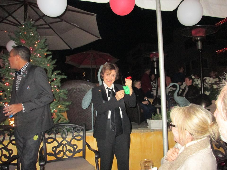 Magic Xmas Party in Manhattan Beach