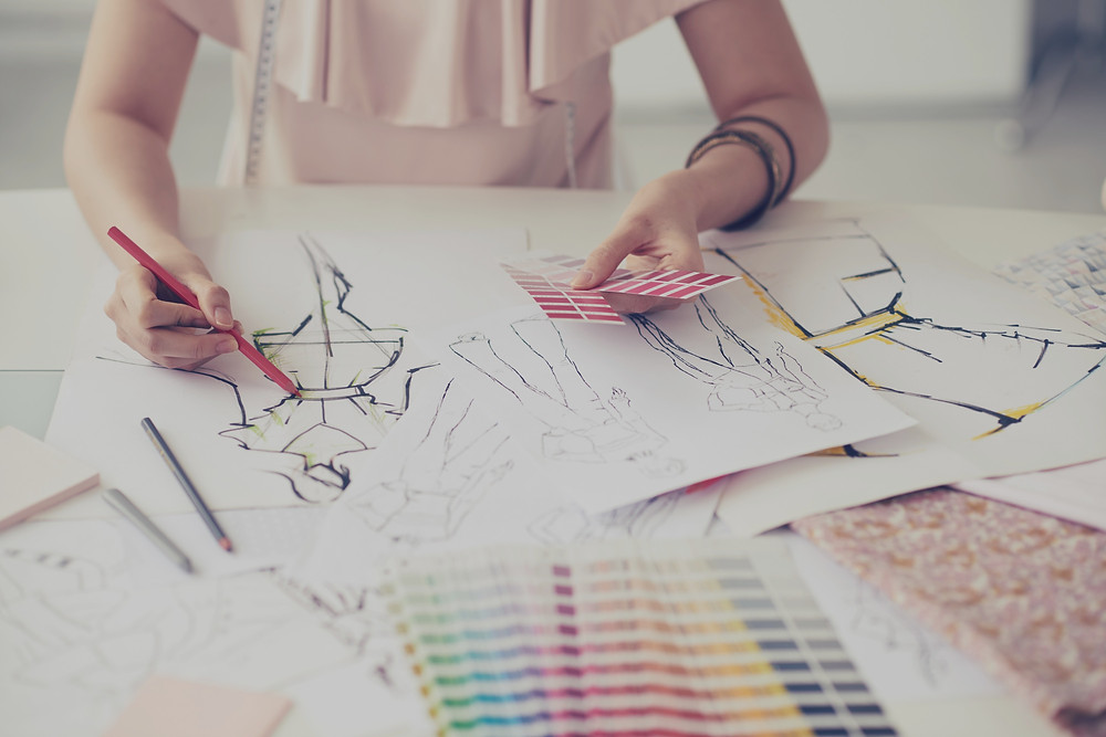 Designing a Fashion Collection with Illustrations
