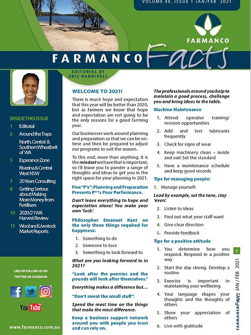 Farmanco Facts