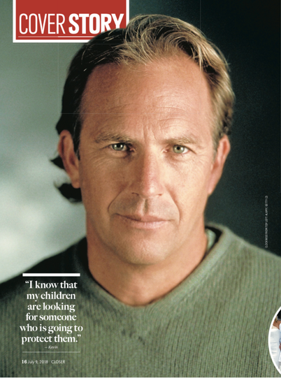 Kevin Costner Closer Cover Story