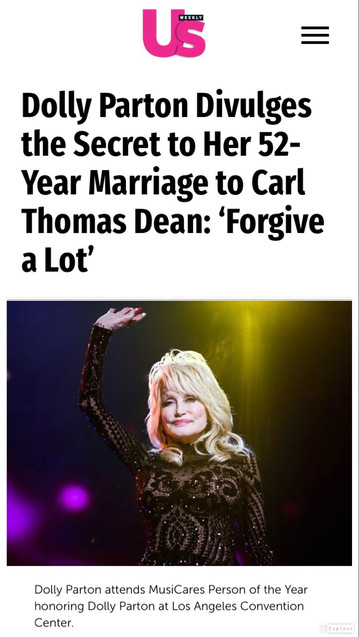 Dolly Parton Us Weekly