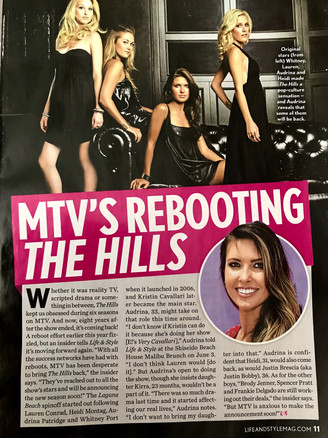Life&Style mag- The Hills breaking news.