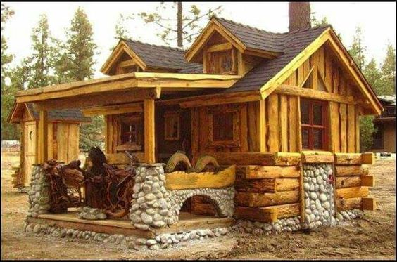 Log Cabin, Log Cabin Kits