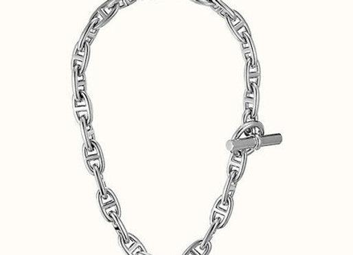 Hermès Chaîne D'ancre Silver Necklace
