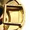 "Thumbnail: Rare Van Cleef & Arpels 18K Yellow Gold ""Chapeau Chinois"" Bracelet Vintage"