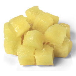 Pineapple, (1/2 cup)