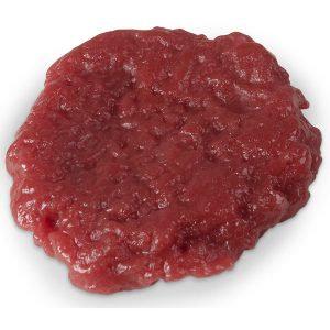 Hambúrguer crú