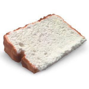 Torta de claras em neve (1 pedaço)