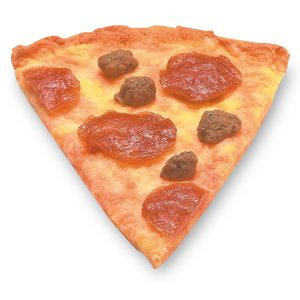 Pizza sausage and pepperoni
