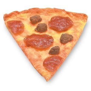 Pizza de calabresa (1 pedaço)