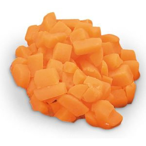 Carrots diced (1/4 cup (60 ml)