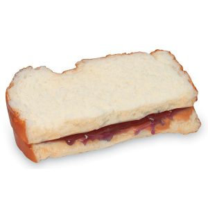 Sandwich peanut butter and jelly