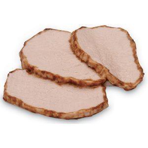 Pork tenderloin cooked (3 oz. (85 g)