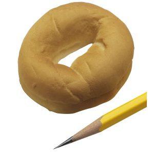Pão bagel (peq.)