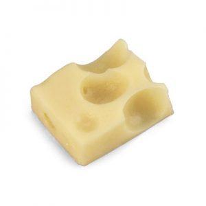 Swiss cheese cube (1 oz. (30 g)