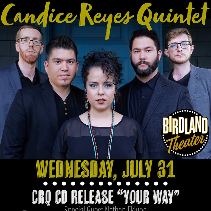Candice Reyes Quintet - CD Release NYC!