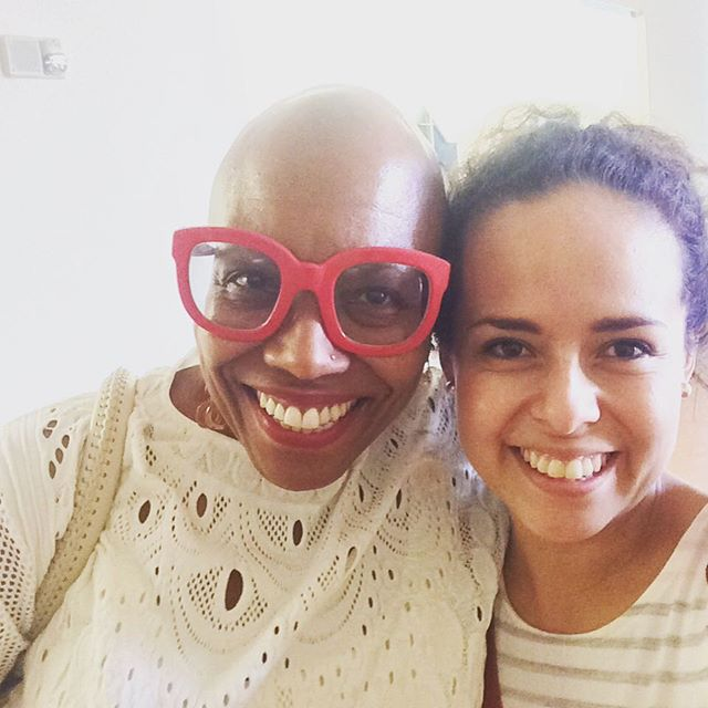 Took a selfie with the amazing Dee Dee Bridgewater
