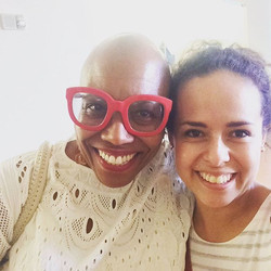 Took a selfie with the amazing Dee Dee Bridgewater