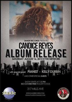 Candice Album Release Poster
