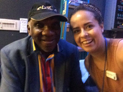 The legendary Harold Mabern at Jazz House Kids Summer Workshop. It was so great to hear him talk abo