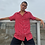 Thumbnail: Camisa unisex rojo margarita