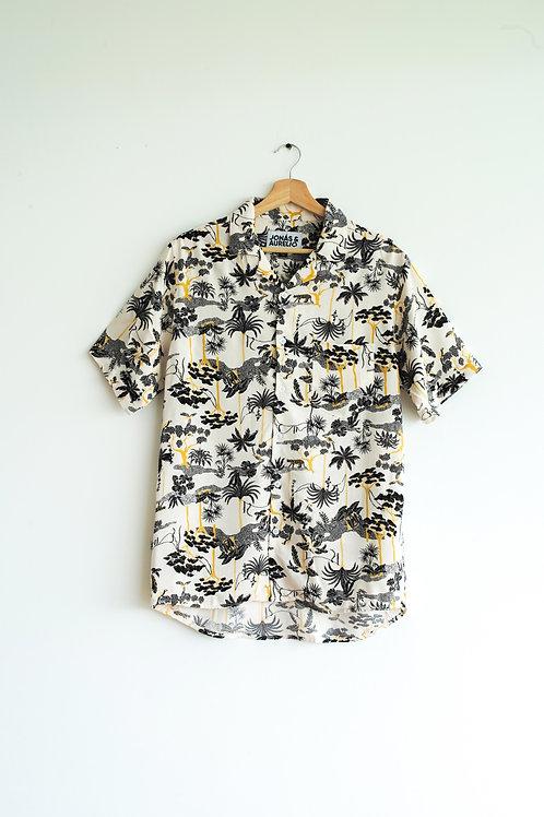 Camisa Chalis unisex manga corta safari