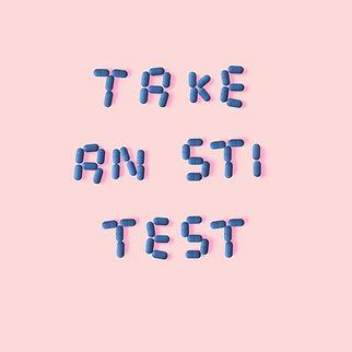 take an STI test. it's a