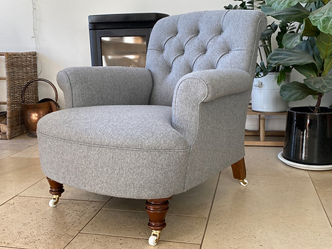 Edwardian Library Chair
